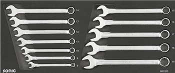 Combination wrench set for toolbox 4730414, 12-pcs