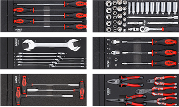VAS275 001/1 6 sets 74pcs tools