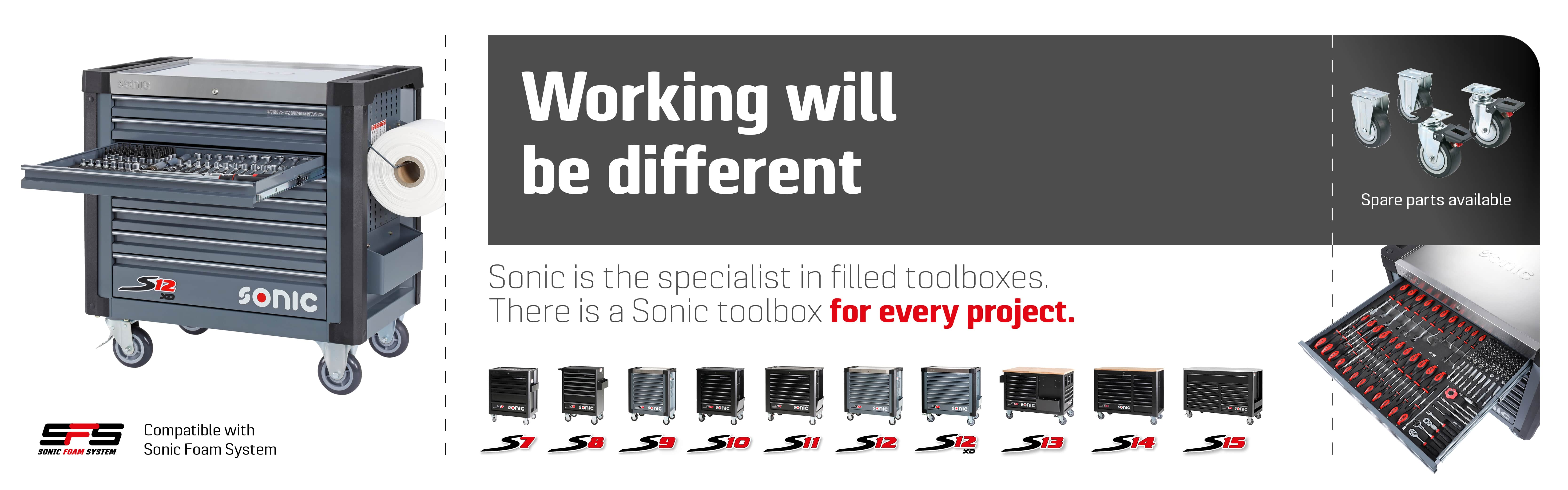 Sonic toolboxes