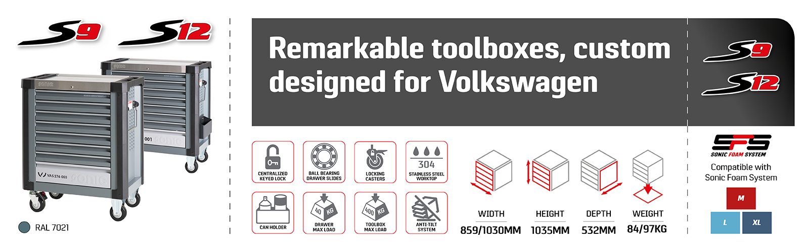 Toolboxes Volkswagen